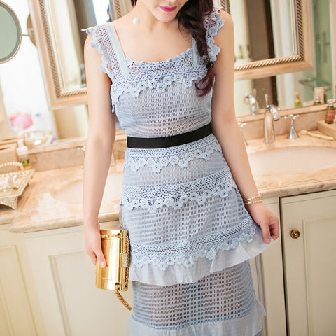 Like Self Portrait Lace Dress
