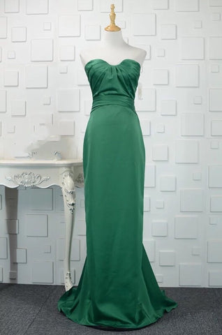 Rimmel Tube Gown in Green (M-3XL) - Gowns.sg