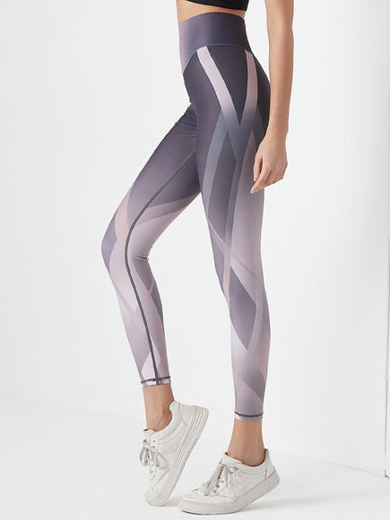 Diamond Facet Leggings - Gowns.sg