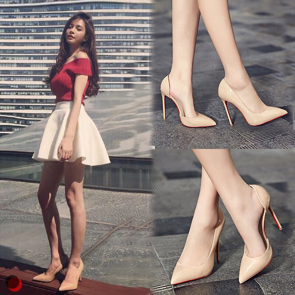 Cut Out Heels - Gowns.sg