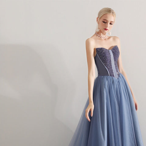 VANESUELA Tube Gown - Gowns.sg