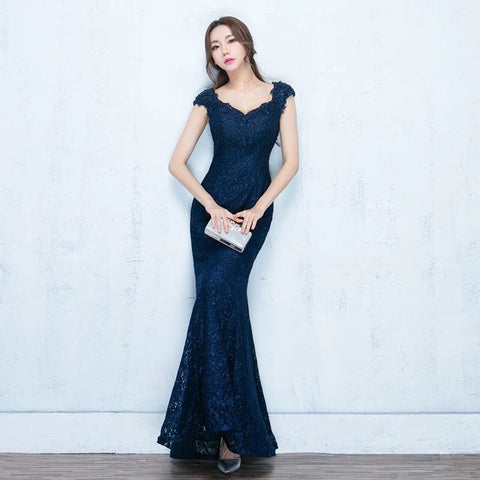 Gina Elegance Gown (S-L) - Gowns.sg