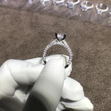 Simulated Diamond Ring OFF823