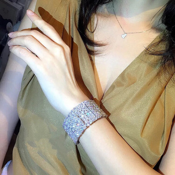 Stimulated Diamond Bracelet OFF912 - Gowns.sg