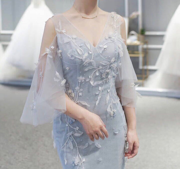 Aubree Soft Tulle Gown - Gowns.sg