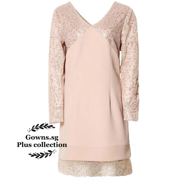 Valentine Dress (L-6XL) - Gowns.sg