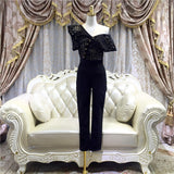 <best><CS038>Olivia Like Self Portrait Jumpsuit - Gowns.sg