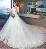Zadia Plus Wedding Gown(XL-4XL)