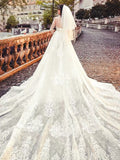 Igna Guipure Fishtail and Flare Gown - Gowns.sg