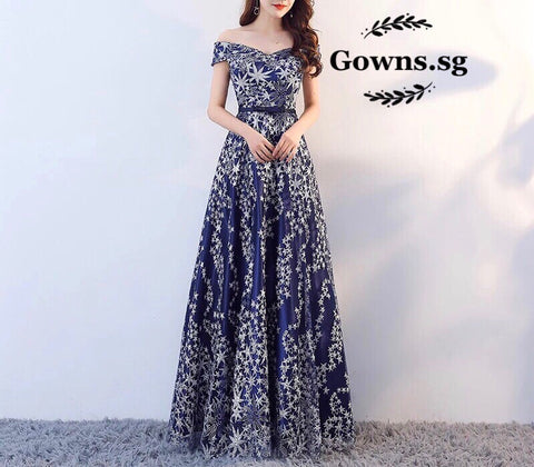 Starlight Plus Gown (XL-7XL) - Gowns.sg