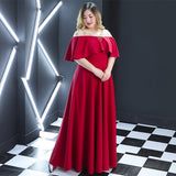 Santorini Goddess Flutter Gown - Long (2XL Onwards) - Gowns.sg