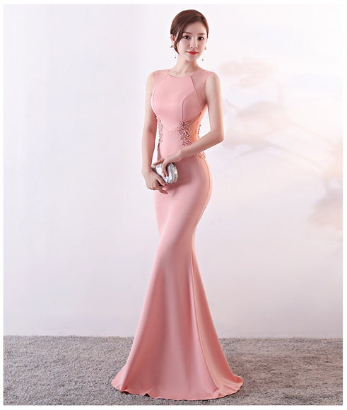 SHARONE Fitted Flare Gown - Gowns.sg