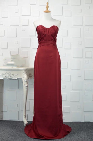 Rimmel Tube Gown in Red (M-3XL) - Gowns.sg