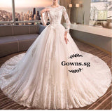 Marissa Modified Gown (S-3XL) - Gowns.sg