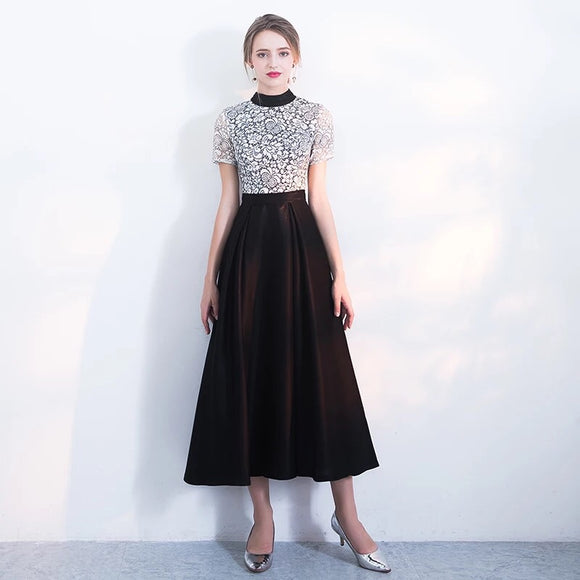 Simone Lace Dress - Gowns.sg