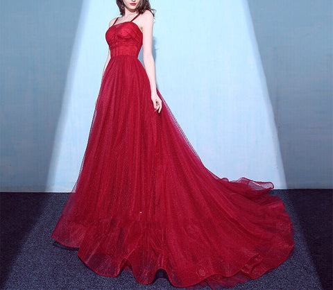 Laurent Strap Gown - Gowns.sg