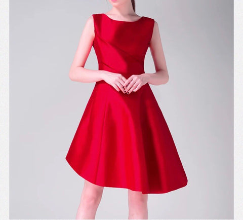 Satin Finish Dress (S/M/L) - Gowns.sg
