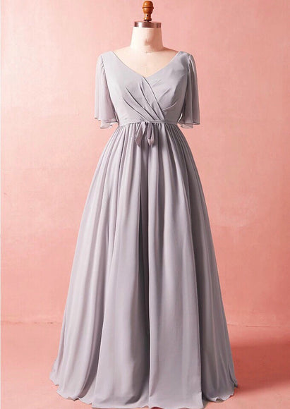 Dusk Skies Wrap Gown (XL-7XL) - Gowns.sg