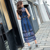Maxi Lace Dress - Gowns.sg
