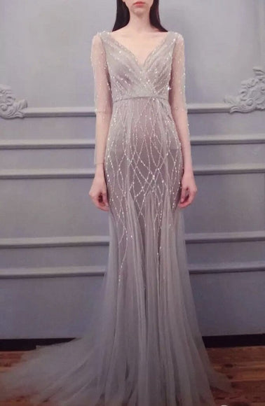 Rebecca Shimmer Gown - Gowns.sg