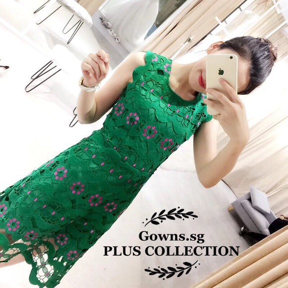 Athena Lace Gown - Gowns.sg