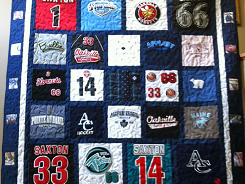 T-Shirt Quilts & Hockey Jersey Quilts