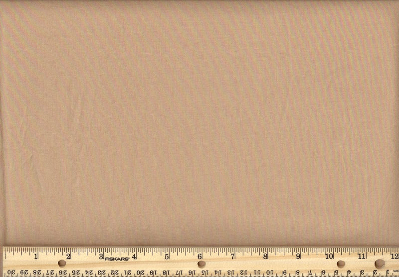 "108"" Wide Backing Cotton Solids - Camel"