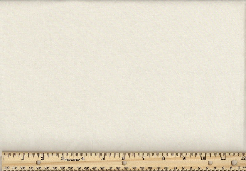 "108"" Wide Backing Cotton Solids - Natural/cream"