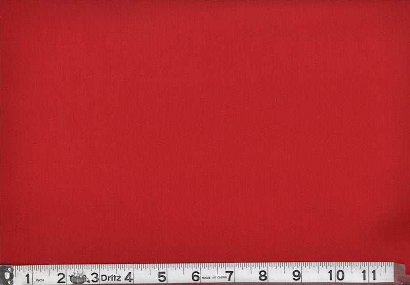 "108"" Wide Backing Cotton Solids - Poppy Red"