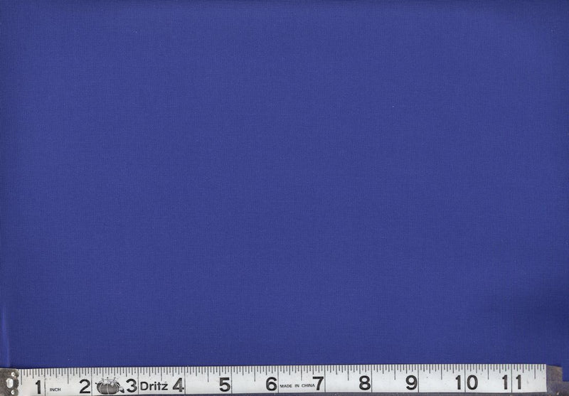 "108"" Wide Backing Cotton Solids  - Royal"