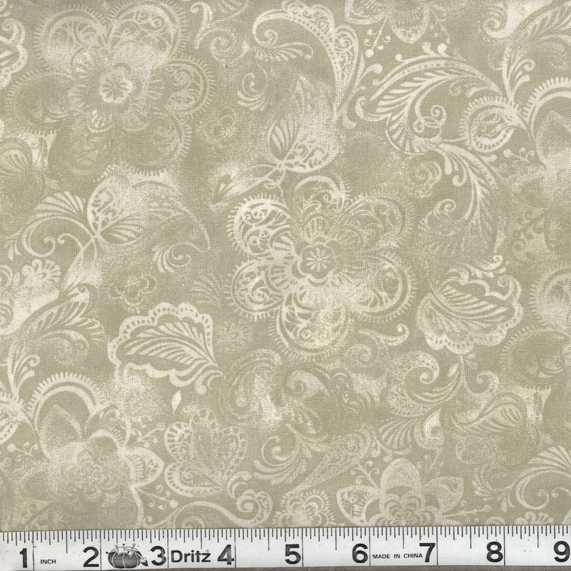 MDG 108″ Quilt Backing Batiks like Print - Beige