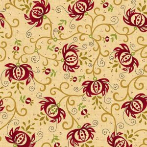 "Spiced Pomergranate 108"" Wide Backing"