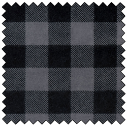 "Lumberjack Flannel - GREY/BLACK - 60"" QSB-CAD9519"