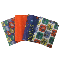 Future Scientist Fat Quarter Bundle (4) - TCC2516-FQ