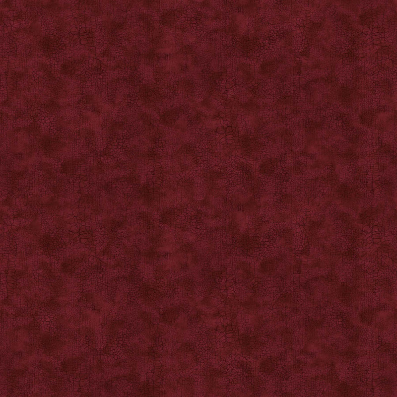 "Crackle by Northcott- Wide Backing 108"" - Burgundy ( dark red)"