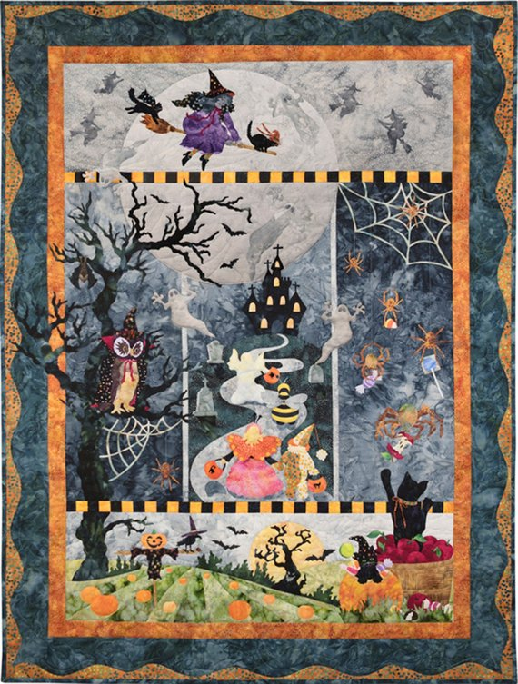 Once in a Boo Moon by McKenna Ryan quilt kit