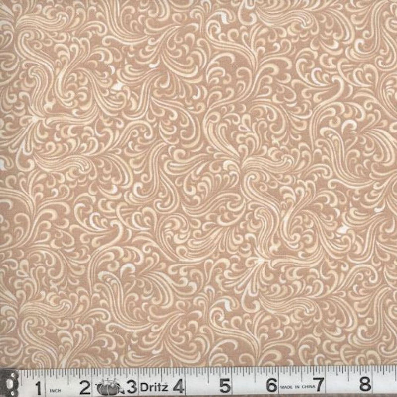 BreezeWay by MDG Quilt back - 108 - Tan