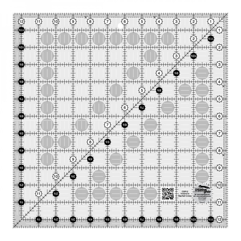Creative Grids Perfect 12 Ruler CGR12