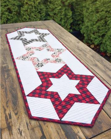 Hollow Star Table Runner # CLPKMS005 Creative Grids pattern