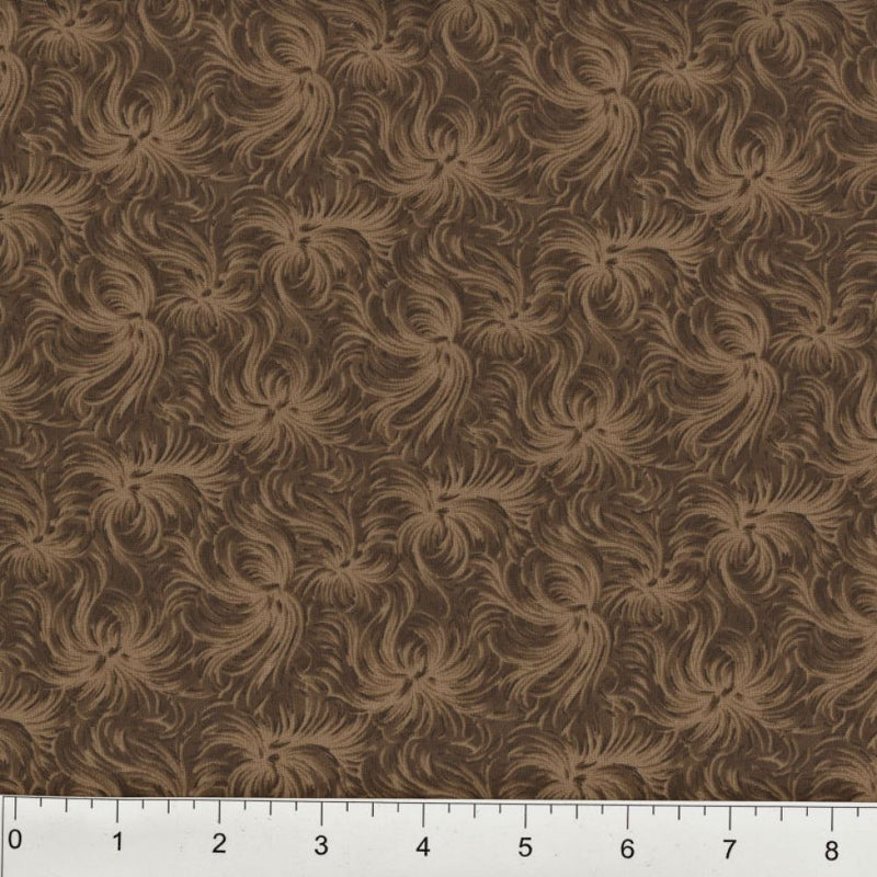 Day Dream by MDG Quilt back - 108 - Brown