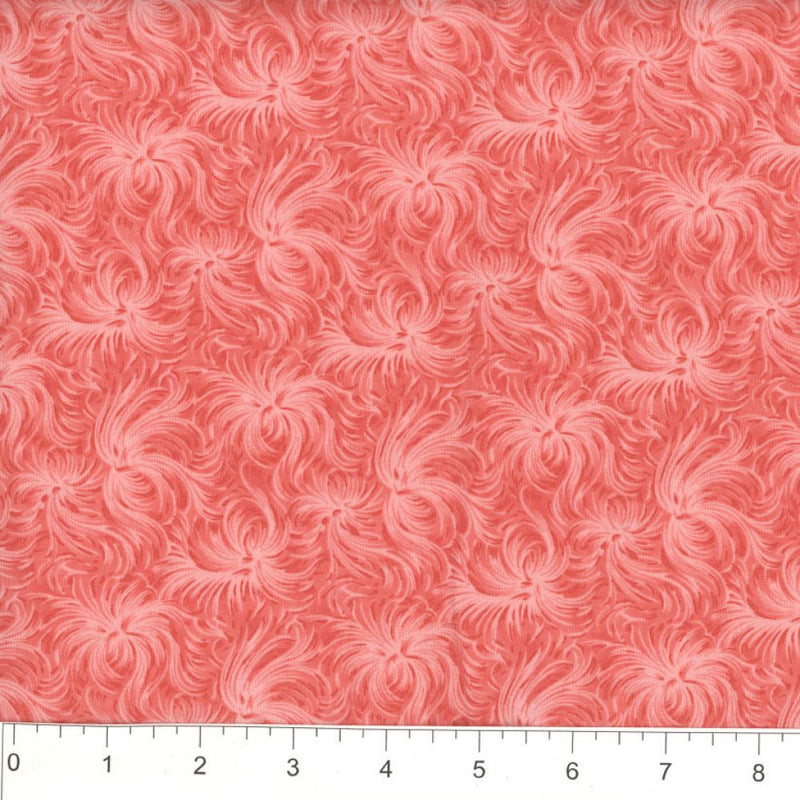 Day Dream by MDG Quilt back - 108 - Coral