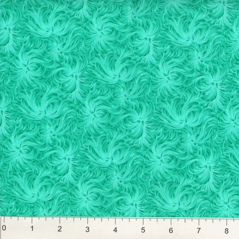 Day Dream by MDG Quilt back - 108 - Carribean