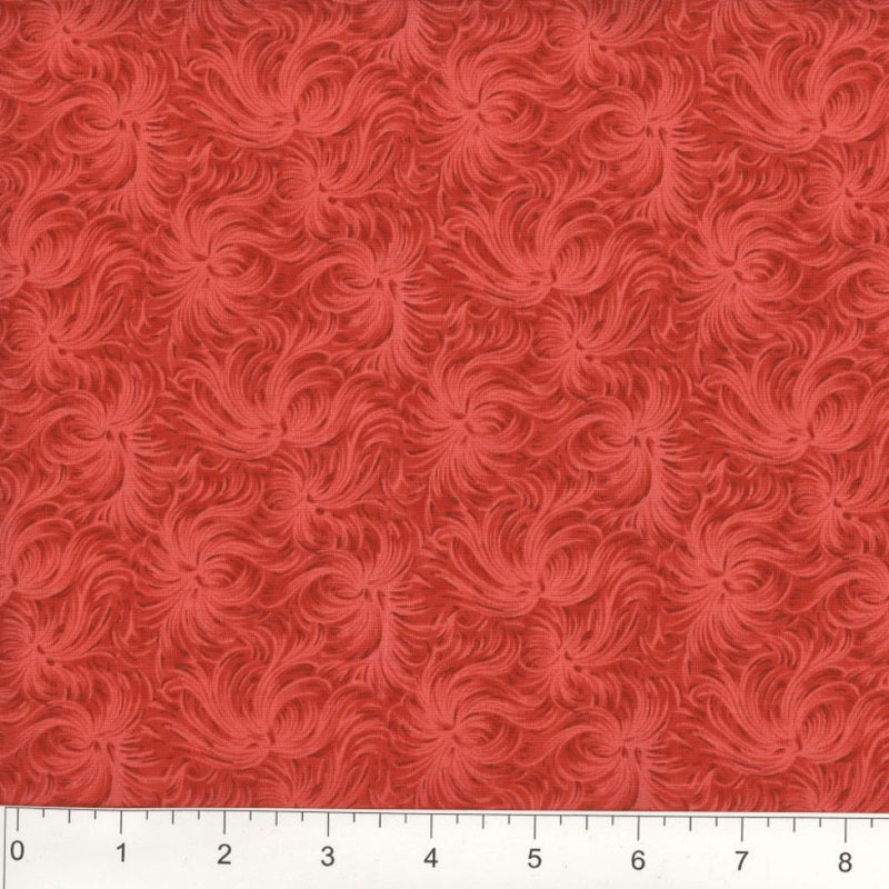 Day Dream by MDG Quilt back - 108 - Red