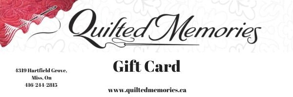 Quilted Memories Gift Cards - Digital