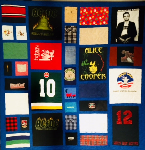 Memory / Memorial Quilts  Complex - Deposit Only