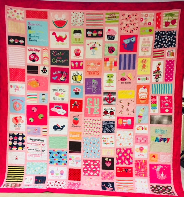 Baby Clothes Quilts - Random / complex - Deposit only