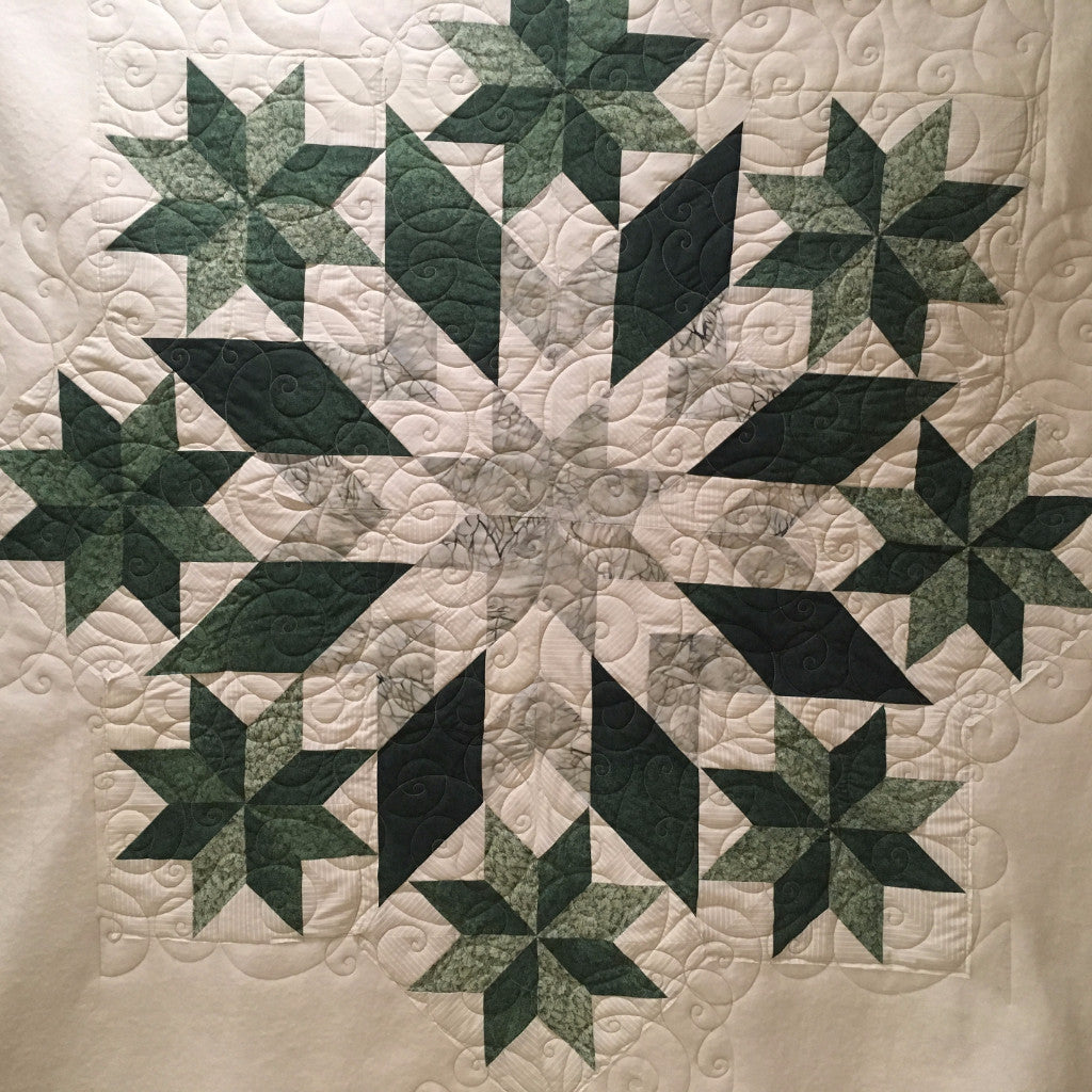 Machine Quilting By Mail Or In Studio