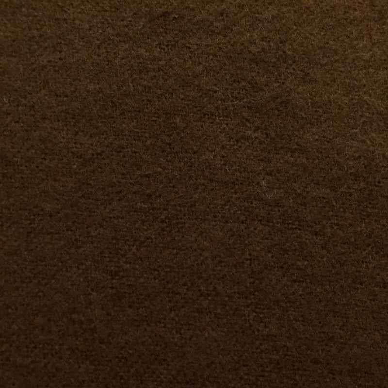 "AE Nathan 44/45"" Comfy Flannel Solids - Chocolate"