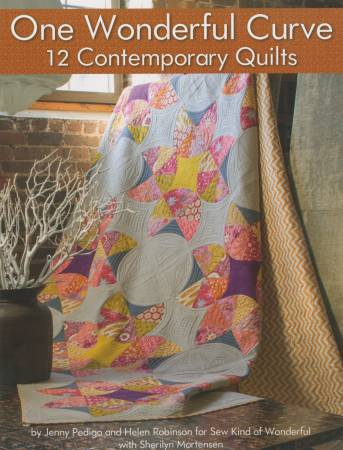 One Wonderful Curve 12 Contemporary Quilts - Softcover # L113404