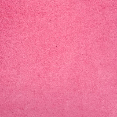 "60"" Smooth Minkie Fleece Bubblegum pink"